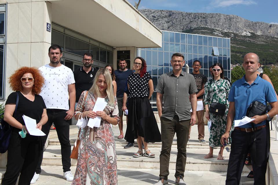 Dobitnici potpore (Snimio: Jakov Teklić)